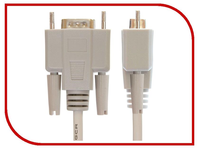 Аксессуар Greenconnect Premium COM RS-232 9M/9M 5m Grey GCR-DB9CM2M-5m