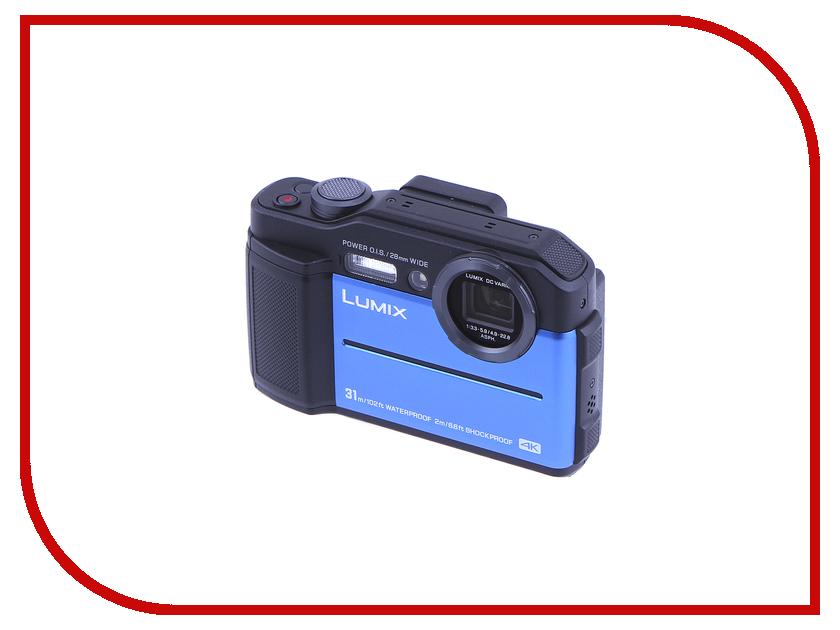 Zakazat.ru: Фотоаппарат Panasonic Lumix DC-FT7 Blue