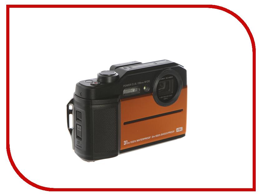 Фотоаппарат Panasonic Lumix DC-FT7 Orange panasonic lumix dmc g5