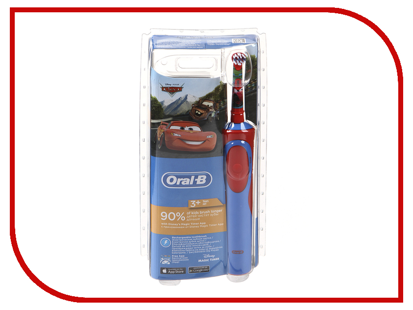 Зубная электрощетка Oral-B Stages Power Тачки D12.513K стоимость