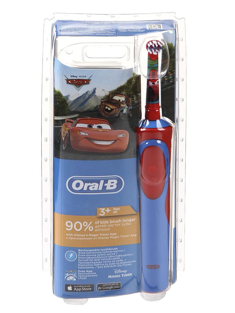 Зубная электрощетка Oral-B Stages Power Тачки D12.513K
