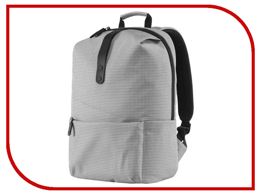 Рюкзак Xiaomi MI College Casual Shoulder Bag Light Grey 74484