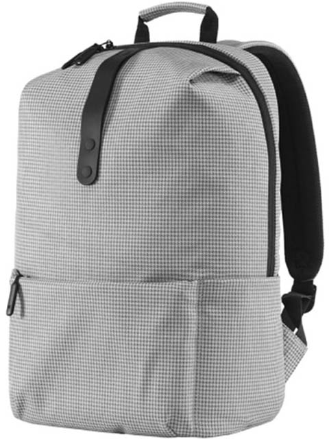 Рюкзак Xiaomi MI College Casual Shoulder Bag Light Grey 74484 fashion men canvas shoulder bags casual travel zipper crossbody bag high quality crossbody bag black khaki brown handbag men bag