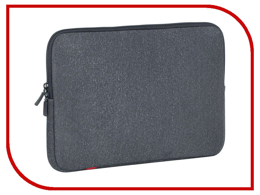 Аксессуар Чехол 13.0-inch RIVACASE 5123 для Macbook 13 Dark Grey 4260403573488 haweel 13 0 inch sleeve case zipper briefcase laptop carrying bag for macbook samsung lenovo sony dell alienware chuwi asus hp 13 inch and below laptops grey