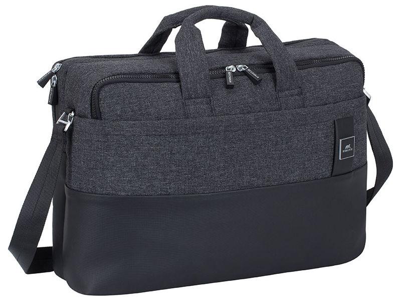 Аксессуар Сумка RivaCase для MacBook Pro и Ultrabook 15.68831 Black Melange 4260403574027