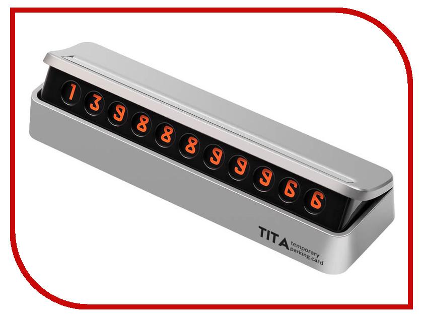 купить Табличка для номера телефона Xiaomi TITA Silver по цене 714 рублей