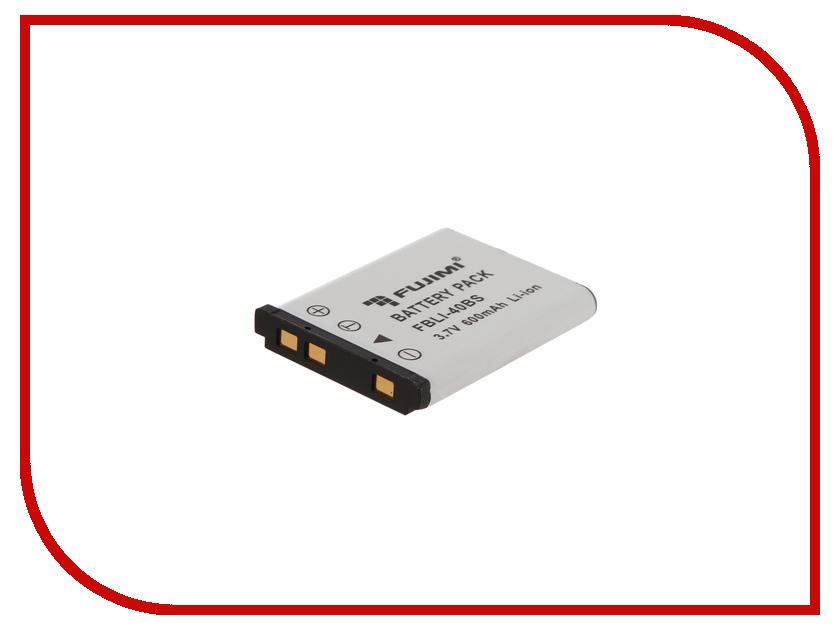 Аккумулятор Fujimi FBLI-40BS аккумулятор fujimi np bk1