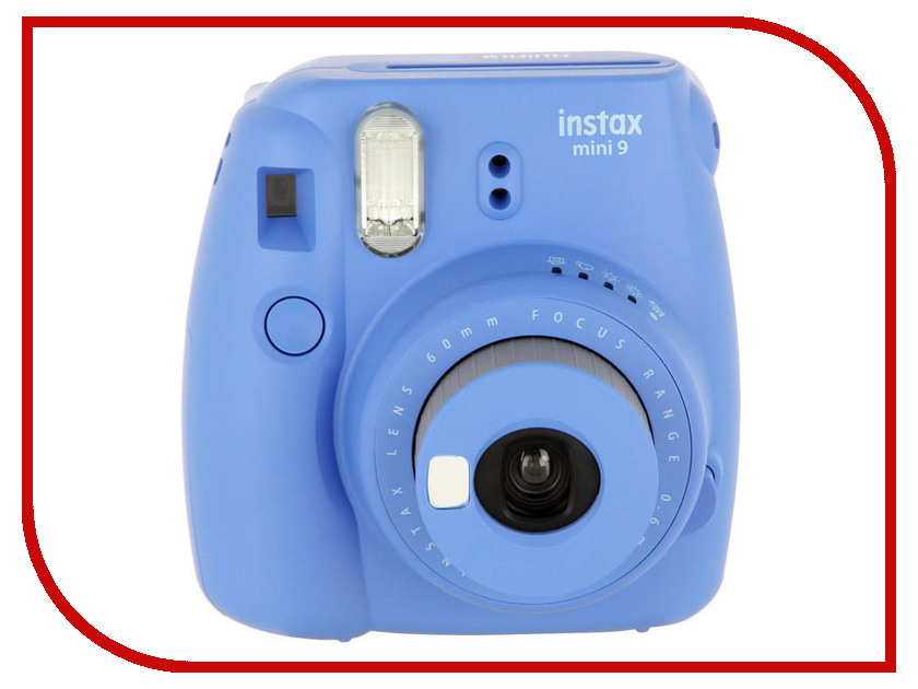 Фотоаппарат Fujifilm Instax Mini 9 Set Champion Cobalt brand new fujifilm instax camera mini 90s black instant mini film camera free shipping