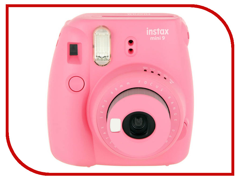 Фотоаппарат Fujifilm Instax Mini 9 Set Champion Pink