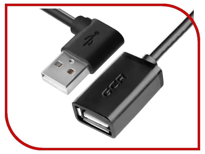 Аксессуар Greenconnect USB 2.0 AM - AF 1.0m Black GCR-AUEC6M-1.0m аксессуар greenconnect usb 2 0 am to usb am 0 2m black gc am2m3 0 2m