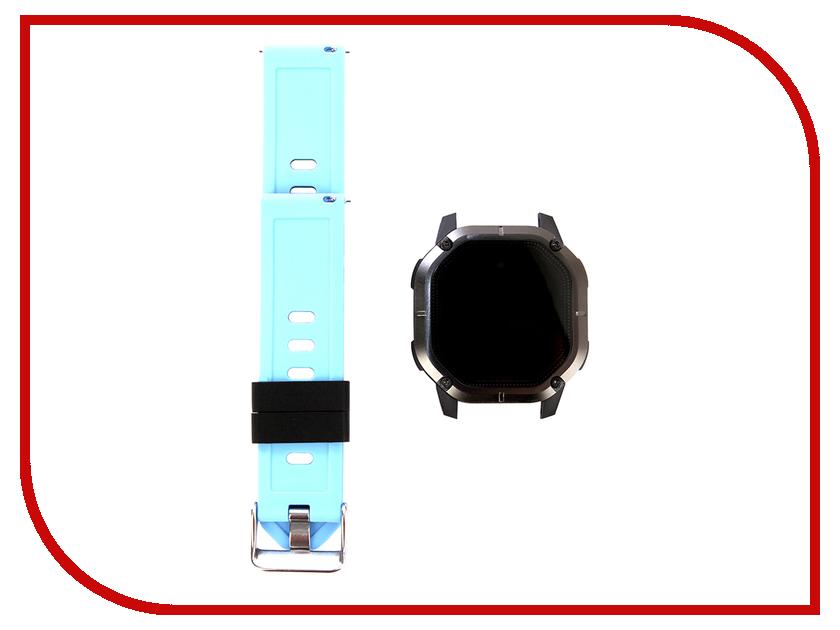 Умный браслет ZDK K5 Black-Light Blue zdk q360 orange