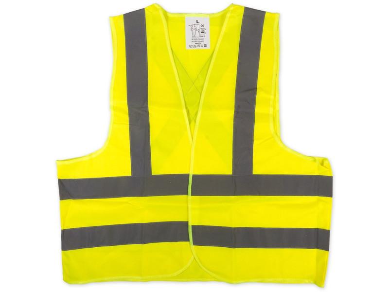Жилет Arnezi Сигнальный, светоотражающий Yellow A1101001 - от S до L