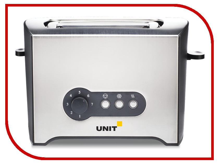 Тостер UNIT UST-020 Silver тостер kenwood ttm 020 gy 900вт 5реж