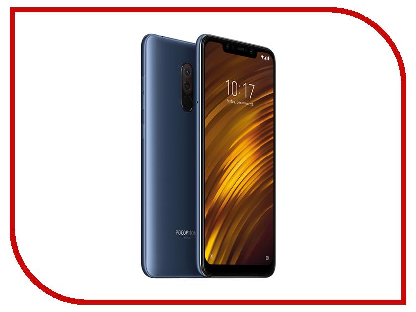 Сотовый телефон Pocophone F1 6/64Gb Blue сотовый телефон senseit t100 black