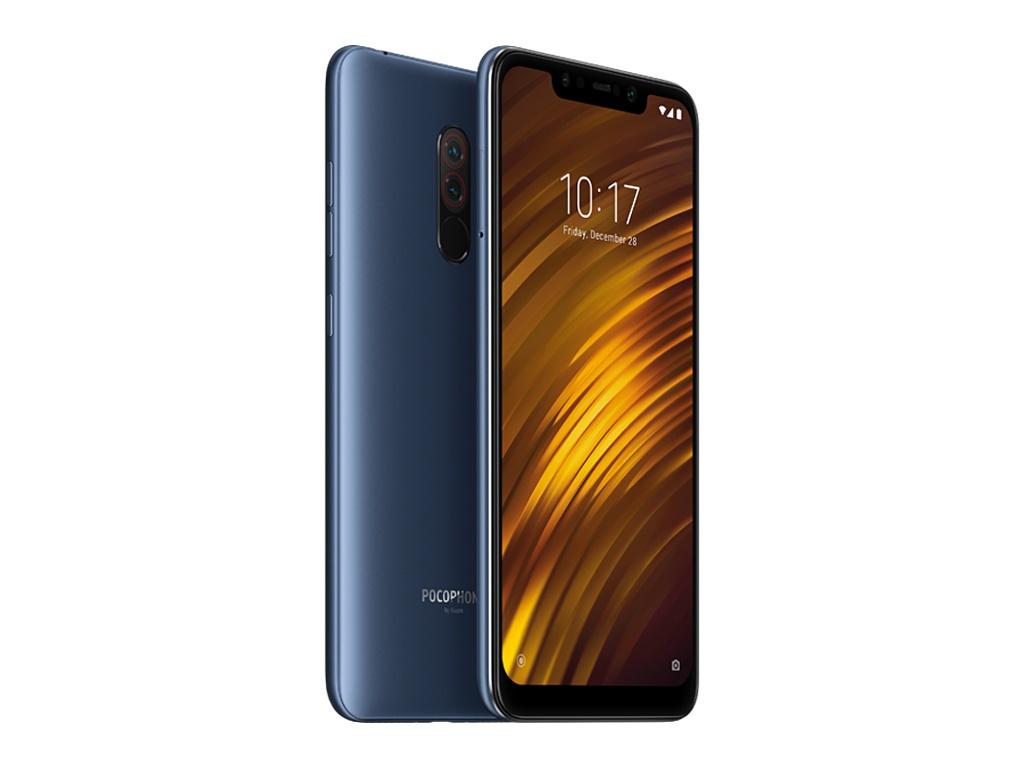 лучшая цена Сотовый телефон Xiaomi Pocophone F1 6/64Gb Blue