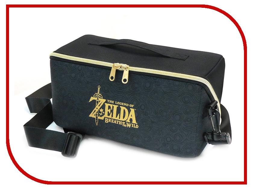 Сумка Hori Zelda Carryall Bag NSW-096U для Nintendo Switch аксессуар для игровой приставки nintendo switch zelda starter kit nsw 035u