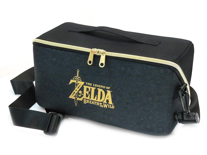 Сумка Hori Zelda Carryall Bag NSW-096U для Nintendo Switch чехол hori zelda alumi case nsw 091u для nintendo switch