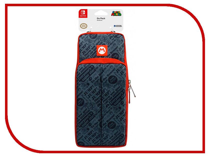 Сумка Hori Super Mario Go Pack NSW-099U для Nintendo Switch аркадный контроллер hori pro v hayabusa для nintendo switch nsw 006u
