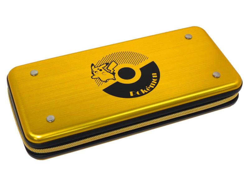 лучшая цена Чехол Hori Pikachu Alumi Case NSW-132U для Nintendo Switch