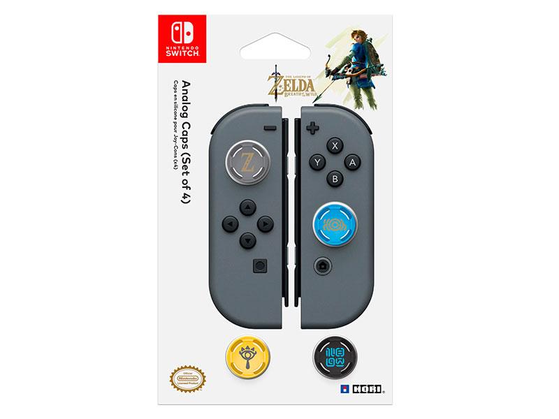 лучшая цена Сменные накладки Hori Zelda Analogue Caps NSW-092U для Nintendo Switch