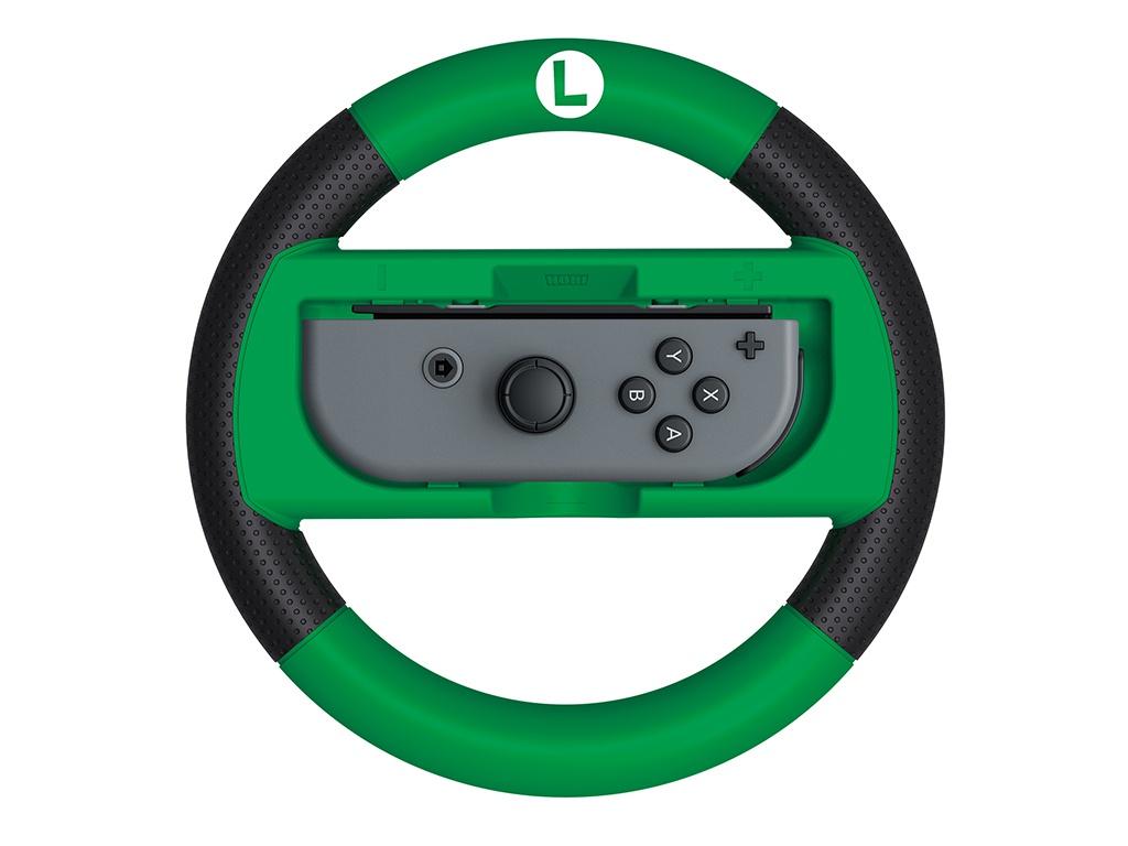 лучшая цена Гоночный руль Hori Luigi Deluxe Wheel NSW-055U для Nintendo Switch