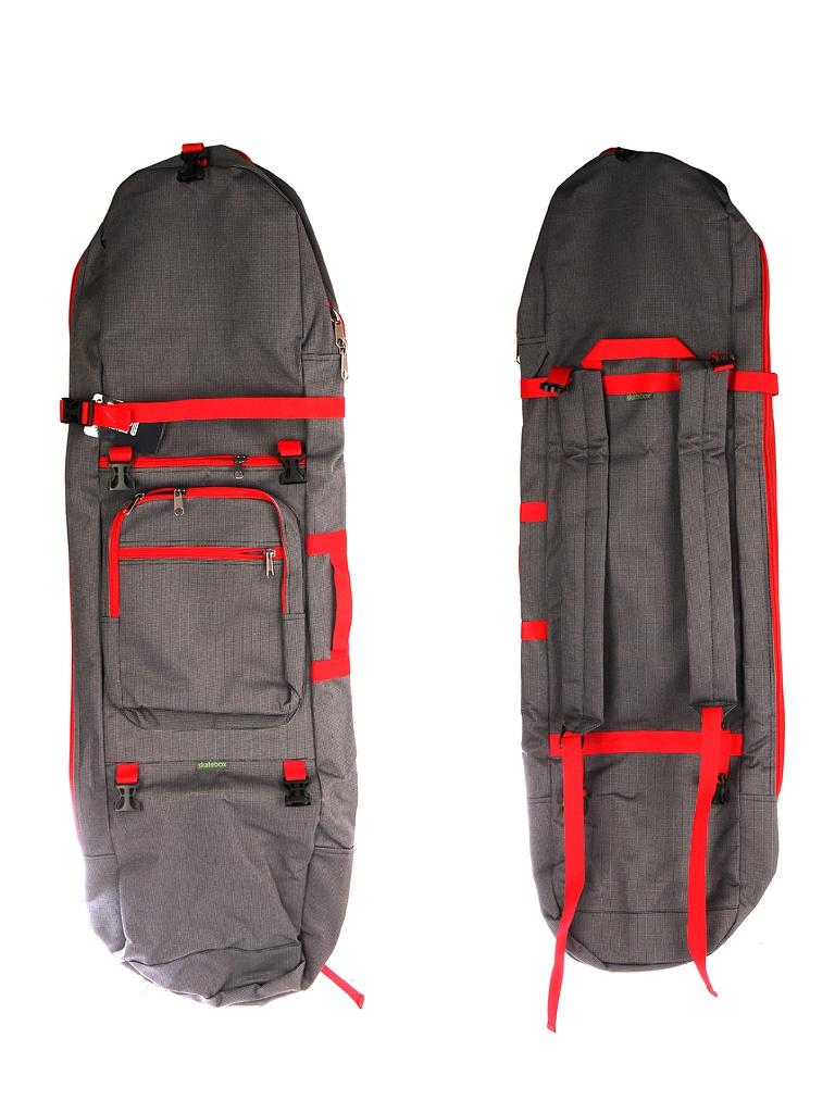 Рюкзак Skatebox Для электросамокатов Graphite-Red STU-ES-34-red