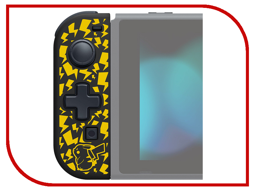 Контроллер Hori Pikachu D-Pad Controller L NSW-120E для Nintendo Switch геймпад hori battle pad pikachu hr49 для консоли nintendo switch nsw 109u