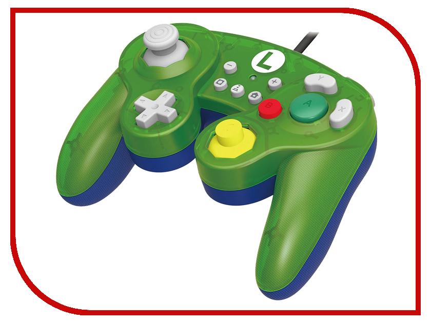 Геймпад Hori Luigi Battle Pad NSW-136U для Nintendo Switch аркадный контроллер hori pro v hayabusa для nintendo switch nsw 006u