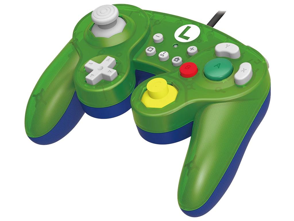 Геймпад Hori Luigi Battle Pad NSW-136U для Nintendo Switch чехол hori zelda alumi case nsw 091u для nintendo switch