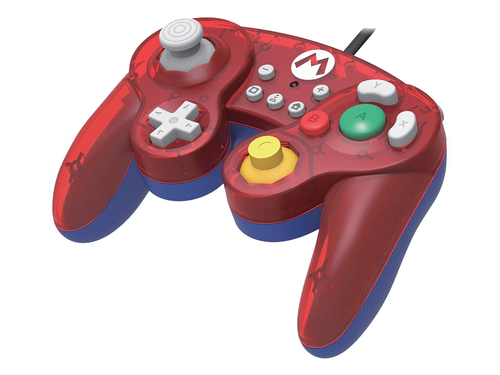 Геймпад Hori Mario Battle Pad NSW-107U для Nintendo Switch геймпад hori battle pad mario hr46 для консоли nintendo switch nsw 107u