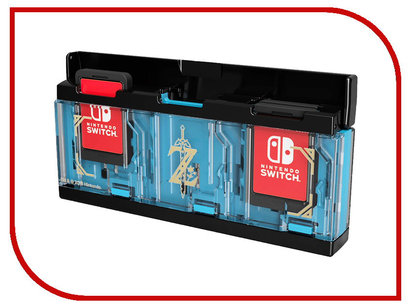 Кейс Hori Zelda Pop & Go Game Case NSW-097U для хранения картриждей куртка утепленная nike m nsw synthetic hd jkt 810856 677