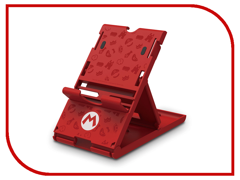 Подставка Hori Super Mario PlayStand NSW-084U для Nintendo Switch аксессуар для игровой приставки nintendo switch zelda starter kit nsw 035u