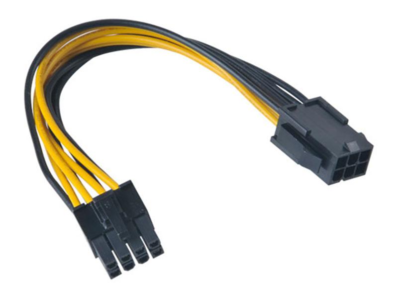 Аксессуар Кабель Akasa PCIe to ATX 12V 15cm AK-CB051