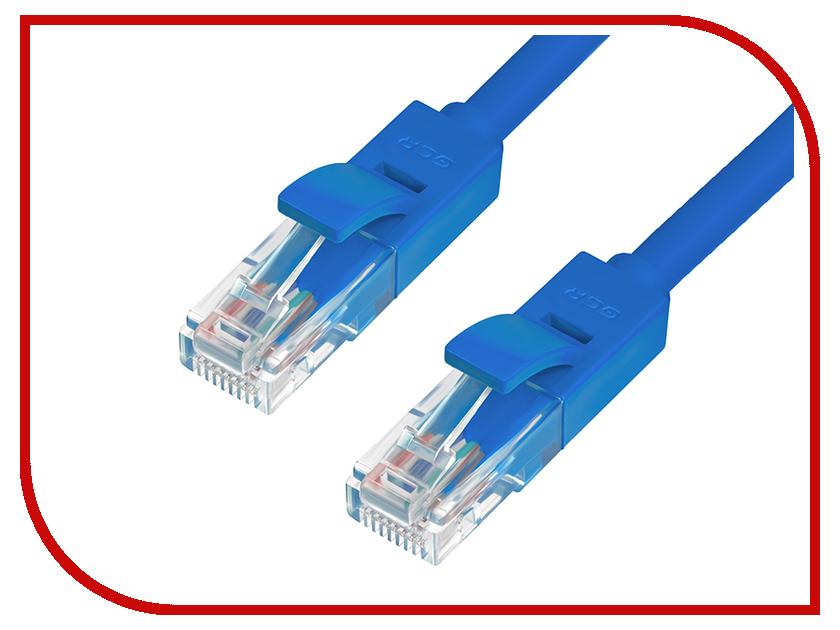Сетевой кабель Greenconnect Premium UTP 24AWG cat.5e RJ45 T568B 0.7m Blue GCR-LNC011-0.7m сетевой кабель greenconnect utp 24awg cat 5e rj45 t568b 10m green gcr lnc05 10 0m