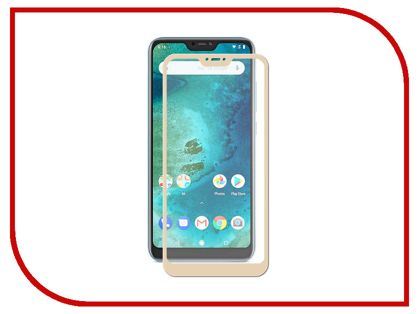 Аксессуар Защитное стекло для Xiaomi Mi A2 Lite Zibelino Full Screen Gold ZTG-FS-XMI-RDM-A2LT-GLD аксессуар защитное стекло для xiaomi mi a2 mi6x svekla full screen white zs svximia2 fswh