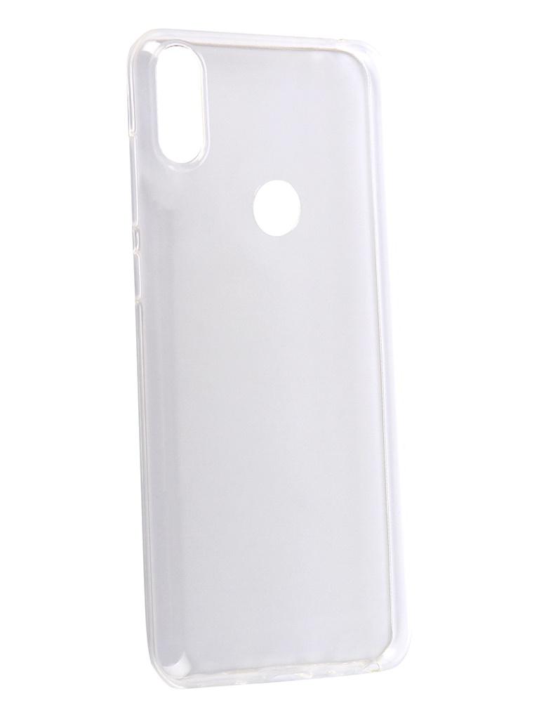 Аксессуар Чехол Zibelino для ASUS Zenfone Max Pro M1 ZB602KL Ultra Thin Case Transparent ZUTC-ASZ-ZB602KL-WH аксессуар чехол для asus zenfone max pro m1 zb602kl zibelino book black zb asus zb602kl blk