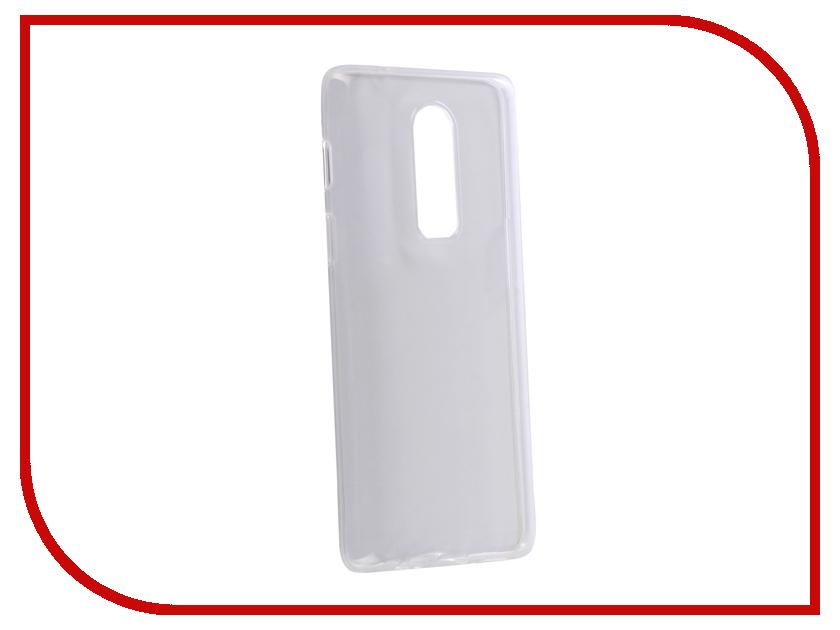 Аксессуар Чехол для OnePlus 6 Zibelino Чехол Ultra Thin Case White ZUTC-OP-6-WHT ikki ultra thin protective 0 2mm pp back case for iphone 6 4 7 translucent white