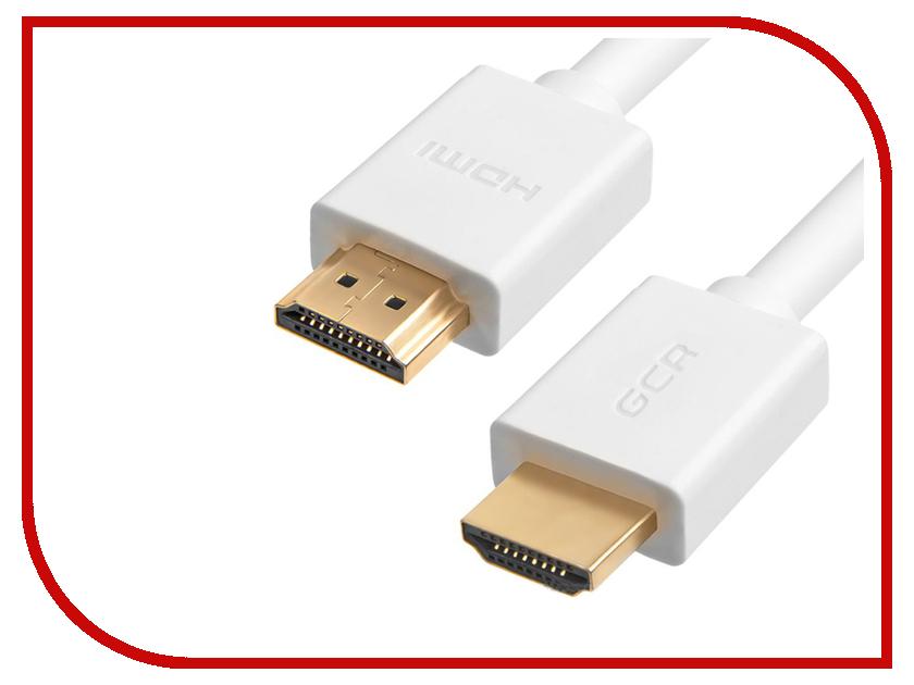 Аксессуар Greenconnect HDMI v2.0 White GCR-50543 аксессуар greenconnect hdmi v2 0 1 5m black gcr hm451 1 5m