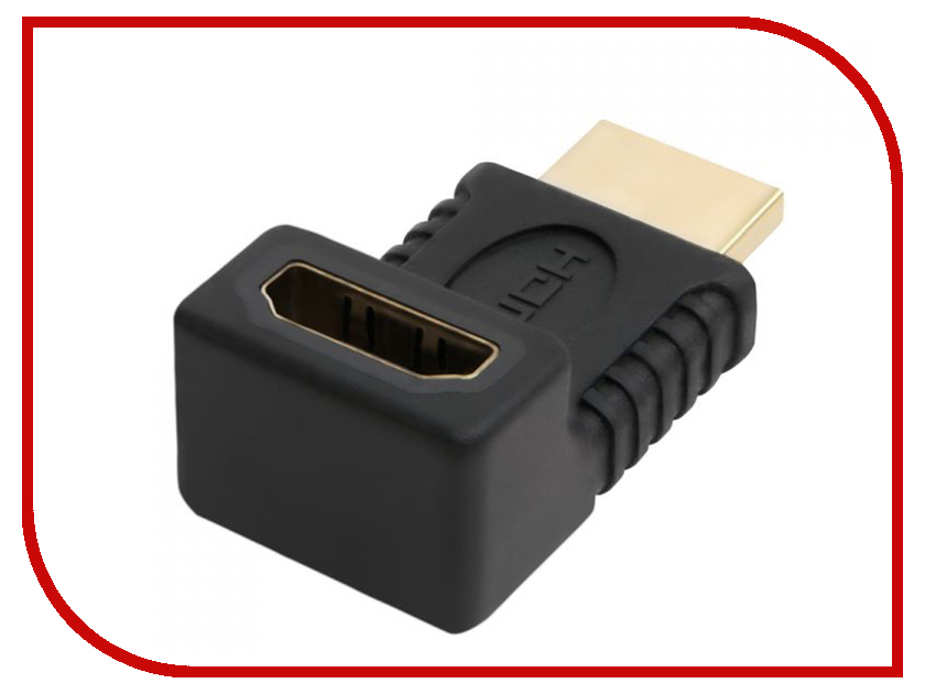 Аксессуар Greenconnect HDMI-HDMI 19M / 19F GCR-CV304 аксессуар greenconnect mini hdmi 19m 19f gc cvm303