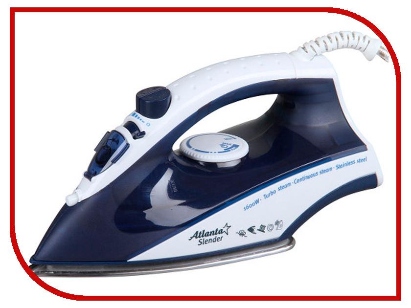 Утюг Atlanta ATH-5502 Blue утюг atlanta practice 2000w фиолетовый