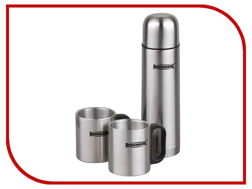 Термос Rosenberg 500ml RSS-420105 и 2 термокружки 250ml термосы и термокружки