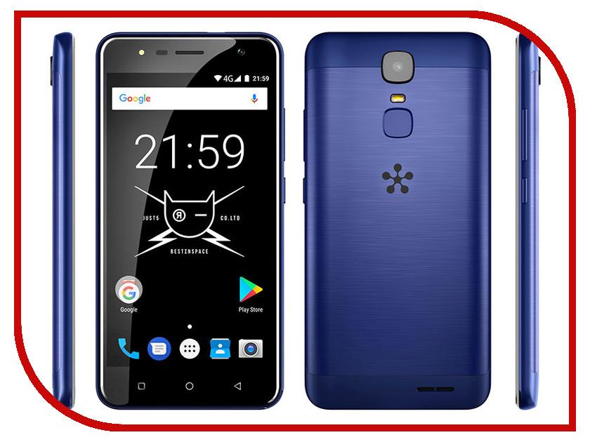 Сотовый телефон Just5 Freedom C100 Blue