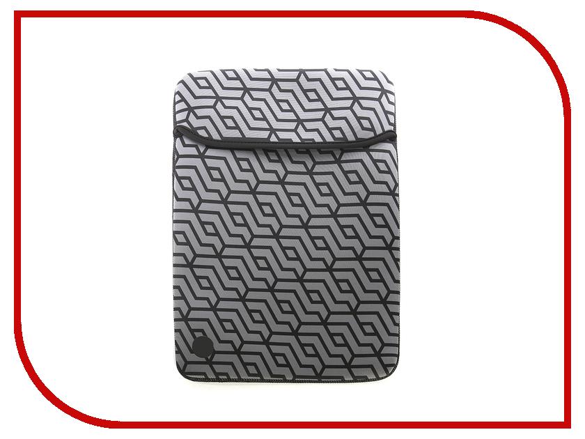 Аксессуар Чехол 14 HP Neoprene Reversible Sleeve Grey 2TX16AA elonno patterned laptop neoprene protective sleeve case for macbook pro air dell hp acer