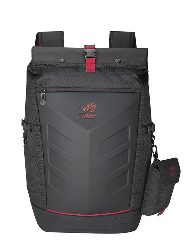 Рюкзак ASUS 17-inch ROG Ranger Black-Red 90XB0310-BBP010 new laptop top case base lcd back cover for asus 17 3 rog g752 g752v g752vl g752vs vy vt vm 13n0 sia0f41