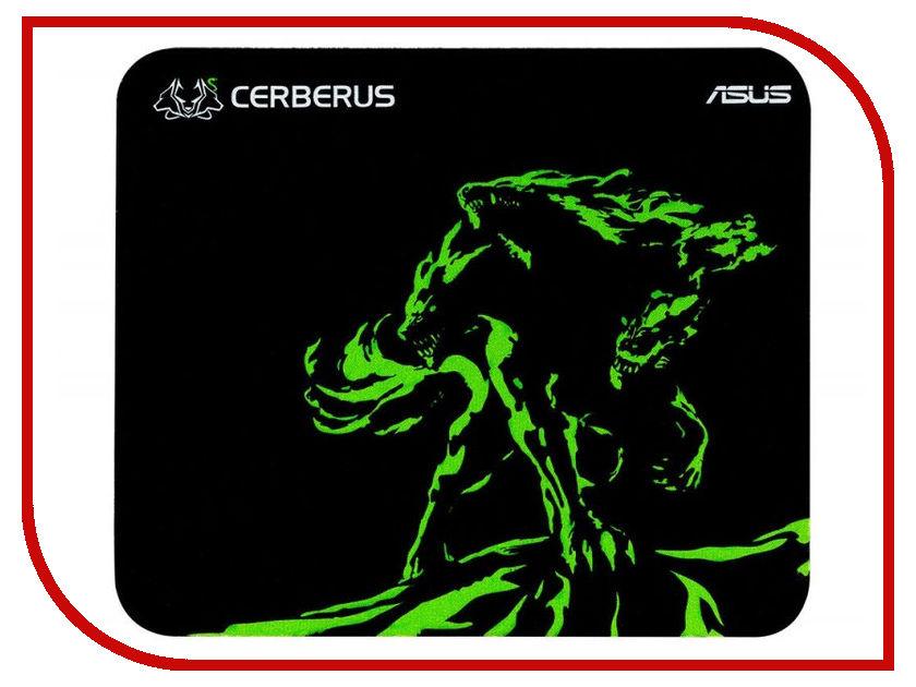 Коврик ASUS Cerberus Mat Mini Black-Green 90YH01C4-BDUA00
