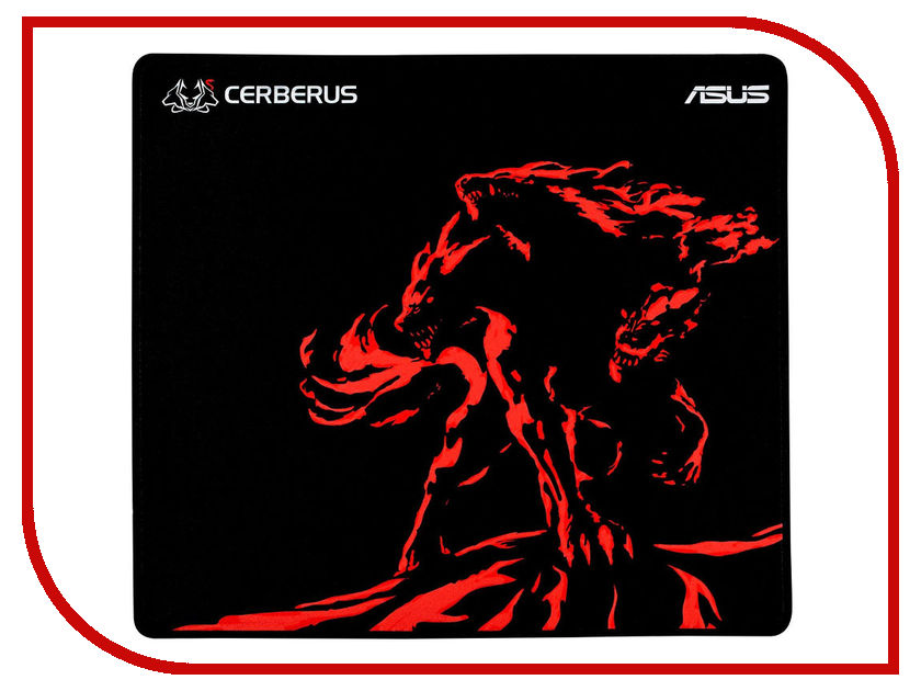 Коврик ASUS Cerberus Mat Plus Black-Red 90YH01C2-BDUA00 цена