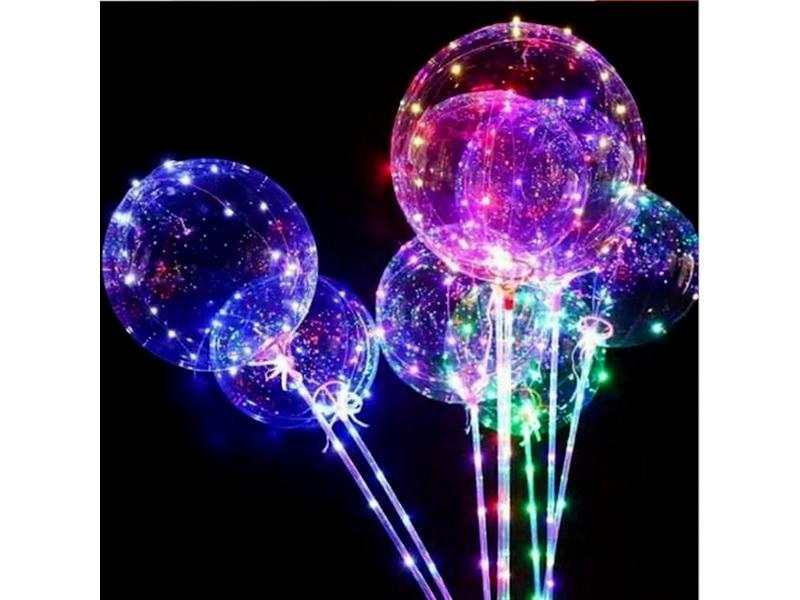 Игрушка СмеХторг Светящийся шарик с гирляндой
