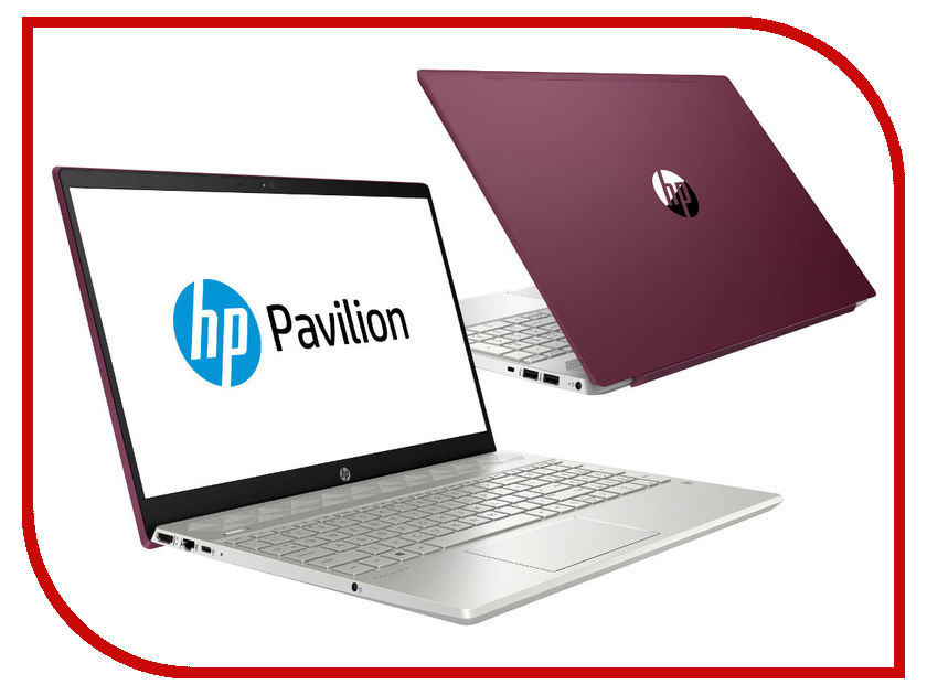 Ноутбук HP Pavilion 15-cs0005ur 4GP04EA Velvet Burgundy (Intel Pentium 4415U 2.3 GHz/4096Mb/1000Gb/No ODD/Intel HD Graphics/Wi-Fi/Cam/15.6/1920x1080/Windows 10 64-bit)