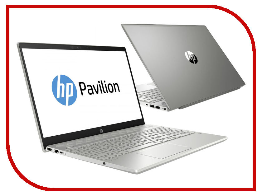 Ноутбук HP Pavilion 15-cs0003ur 4GP07EA Mineral Silver (Intel Pentium 4415U 2.3 GHz/4096Mb/1000Gb/No ODD/Intel HD Graphics/Wi-Fi/Cam/15.6/1920x1080/Windows 10 64-bit)