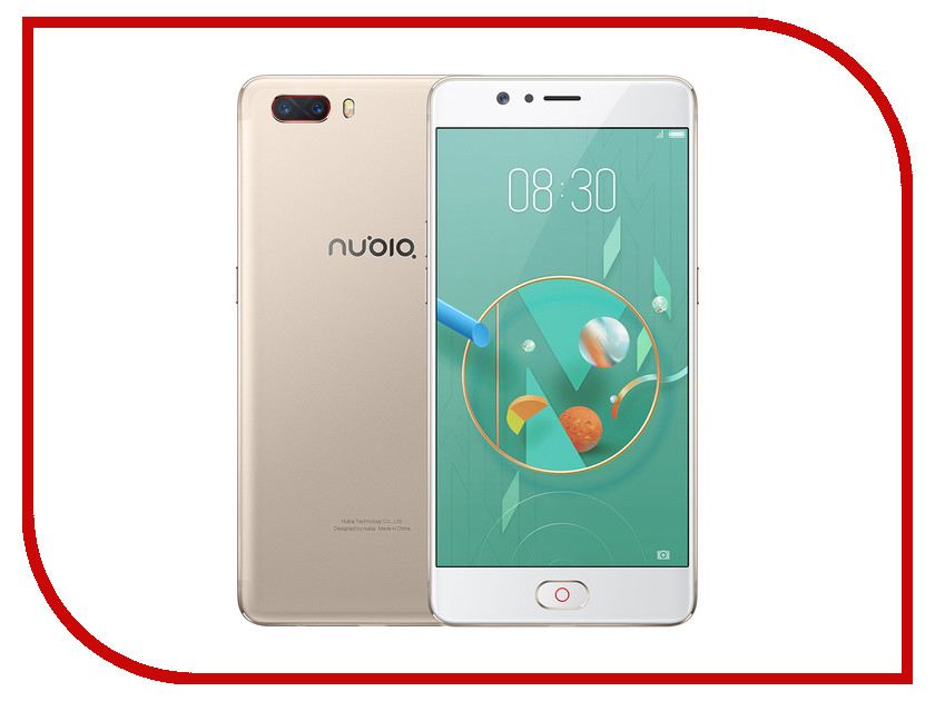 Сотовый телефон ZTE Nubia M2 64GB Golden moskii brand ultra thin protective pc backcase cover for zte nubia x6